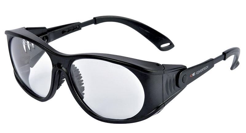 Cofra Schutzbrille Covertech mit verstellbaren Bügeln, EN 166, EN 170