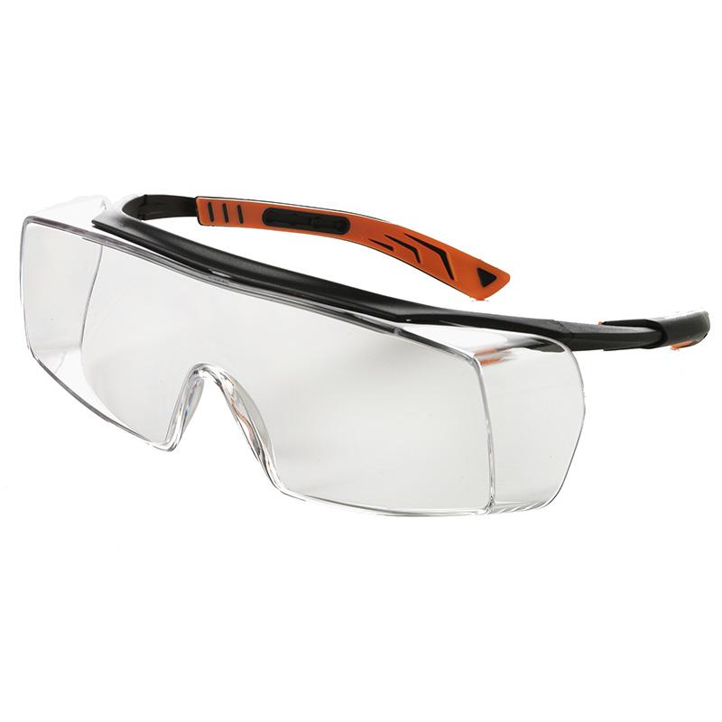 Schutzbrille, Überbrille für Brillenträger, 5X7, EN 166, EN 170