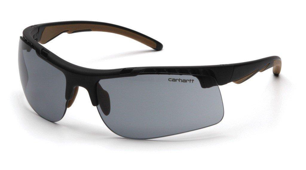 Carhartt Herren Schutzbrille Rockwood, Grau
