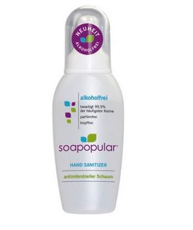 Soapopular Handdesinfektion  550ml ohne Alkohol antimikrobieller Schaum
