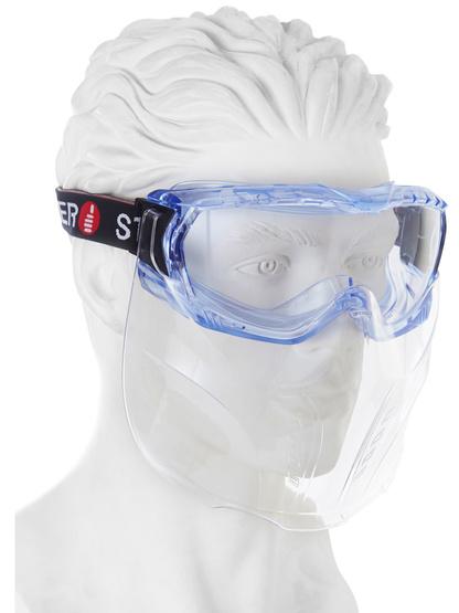 Singer Vollschutzbrille EVAGUARD, großes Sichtfeld, transparent, 2,3mm Schutzglas, EN166, EN170
