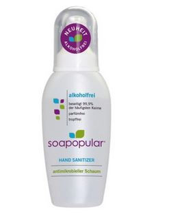 Soapopular Handdesinfektion 100ml ohne Alkohol antimikrobieller Schaum