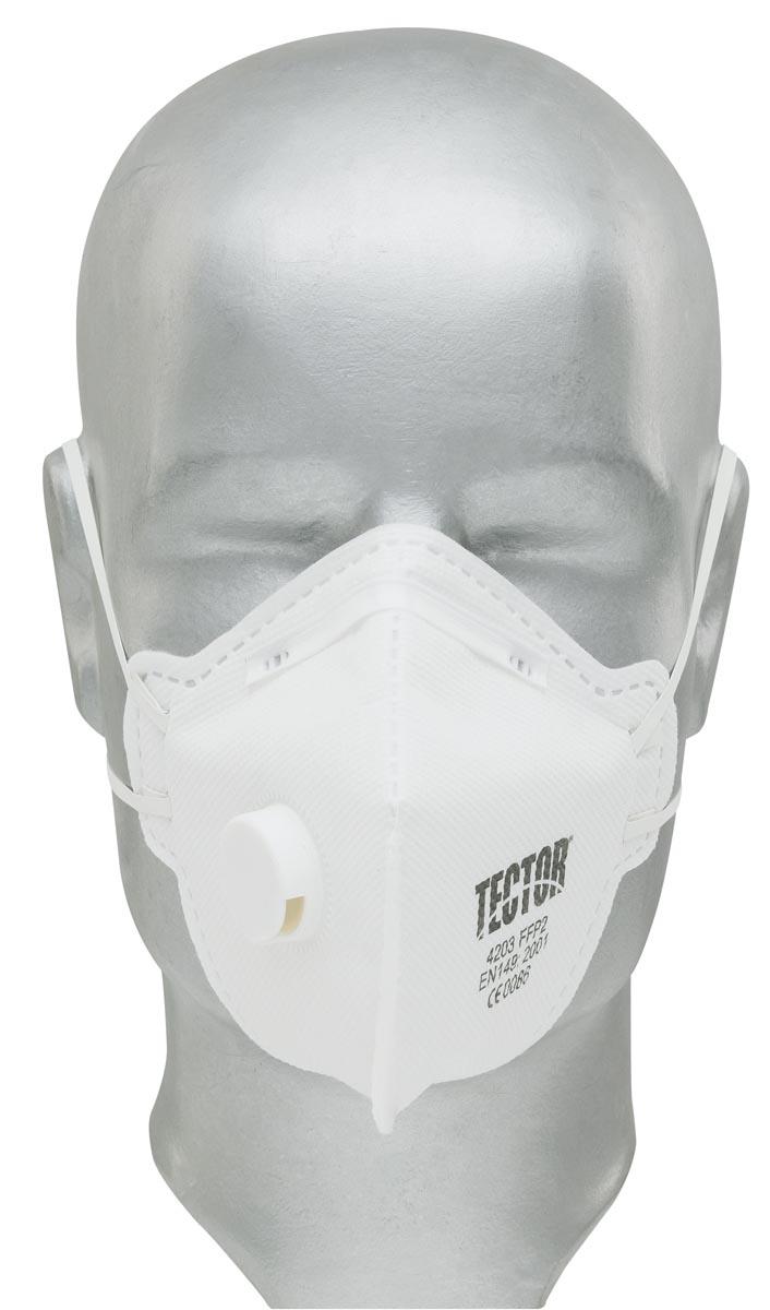 Tector FFP2 Maske mit Ausatemventil, zertifiziert nach EN149:2001+A1:2009