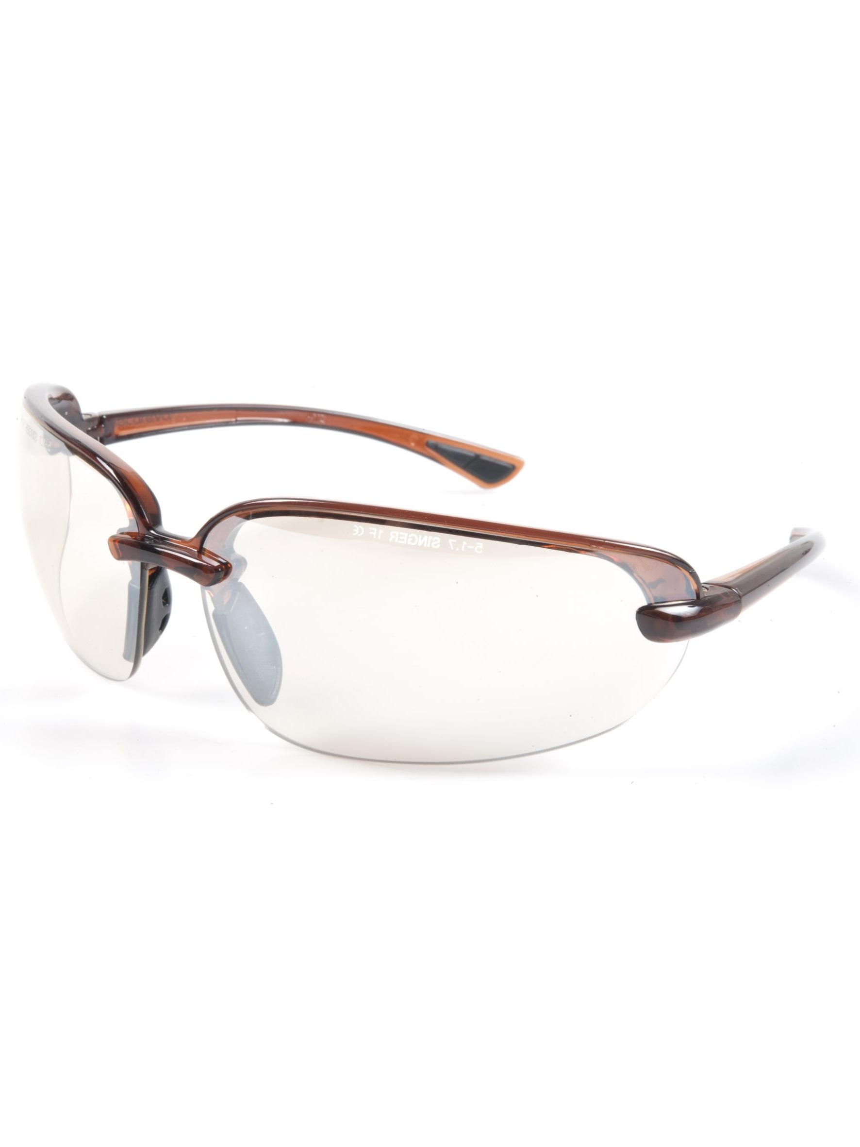 Singer Schutzbrille Evatrend, UV400, klar, EN166 F1 EN172 (5-1.7)