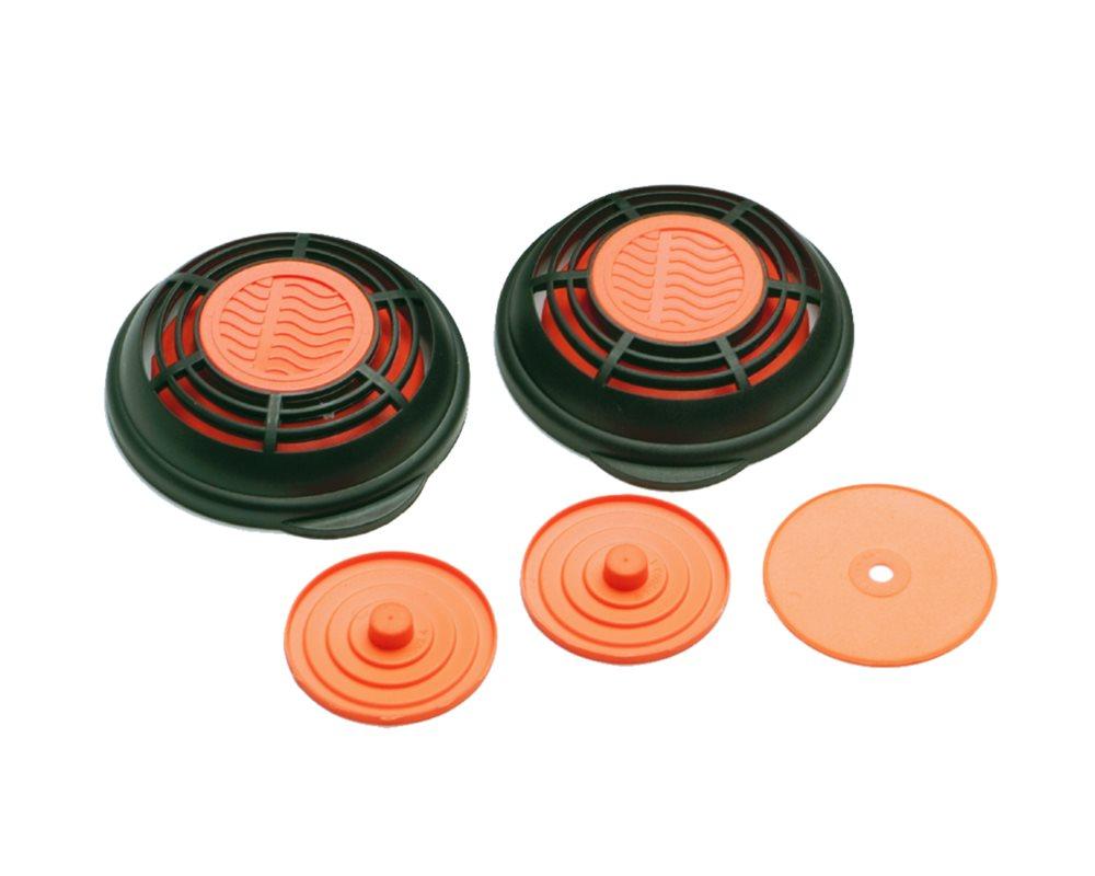 Serviceset SR 90-3 und SR 100 Membranen und Schutzkappen