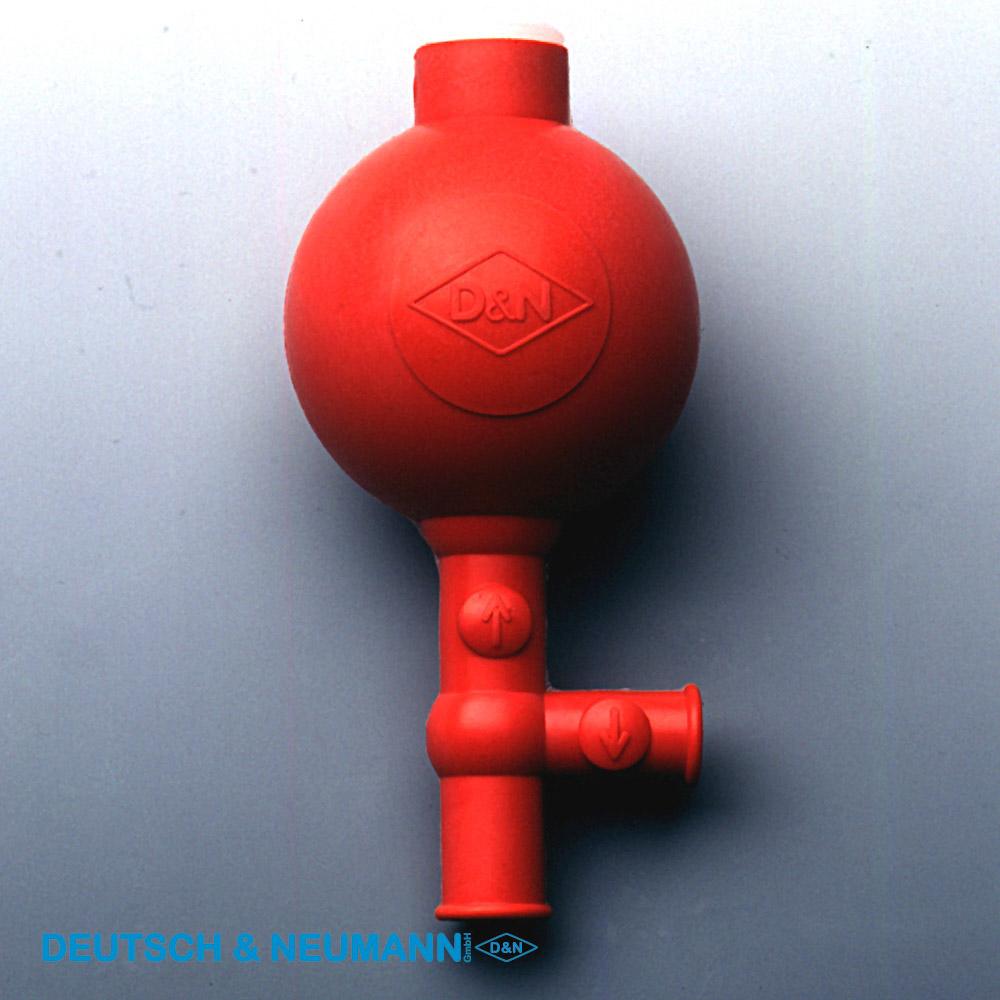 """Sicherheits - Peleusball Pipetierball """"Flip"""", Rot, 10ml"""