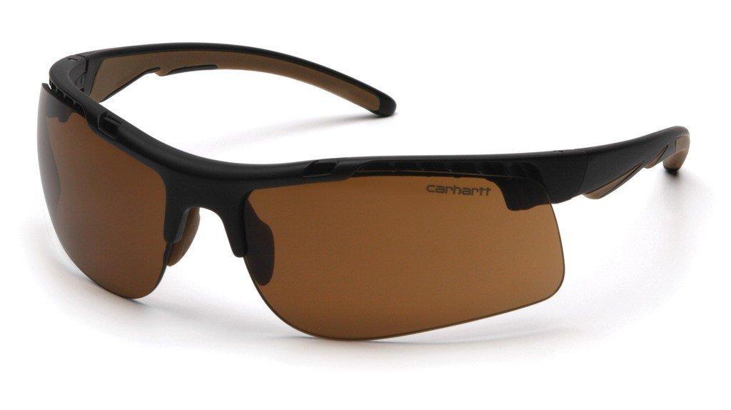 Carhartt Herren Schutzbrille Rockwood, Bronze