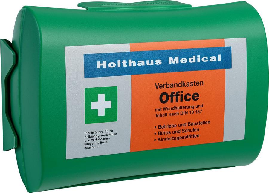 Holthaus Medical Betriebsverbandkasten OFFICE, DIN 13 157