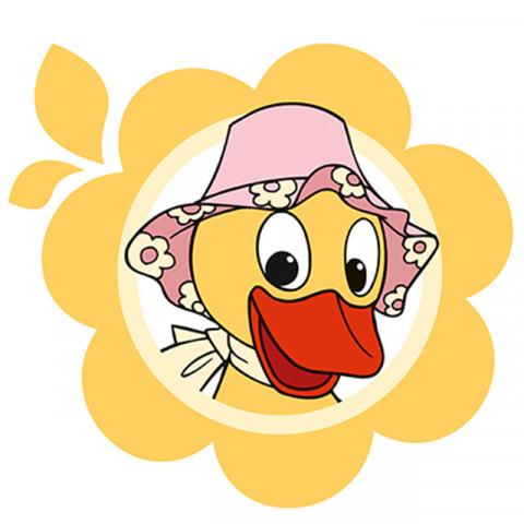 Schnattchen mit Hut Trans-Digi-Sieb GH