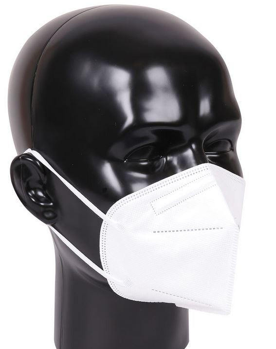 Franz Mensch FFP2 Atemschutzmaske ohne Ventil, CE zertifiziert, einzeln verpackt
